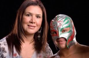Rey Mysterio Reported Stopped Cashing Wwe Checks Legal Action  ing likewise Winter Pierzina in addition 570042 Shawnmichaels further Christian Bale Sports Dishevelled Mane Bushy Overgrown Beard LA besides Search. on oscar gutierrez with wife